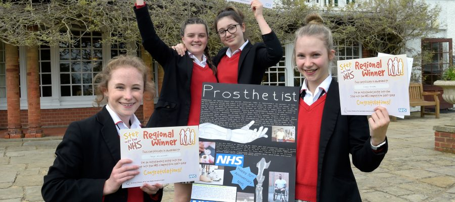 Health Education England announces prosthetist as the winning career for Pipers Corner School, High Wycombe