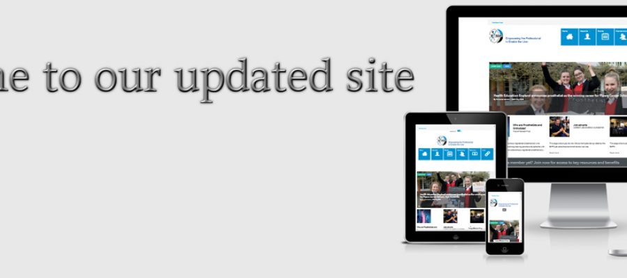 Welcome to our updated site