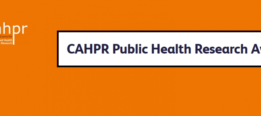 CAHPR Public Health Research Awards