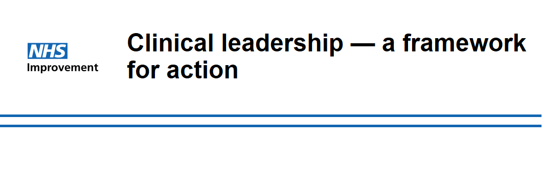 NHS Improvement – Clinical Leadership