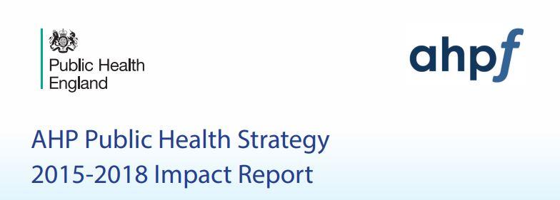 AHP Public Health Strategy