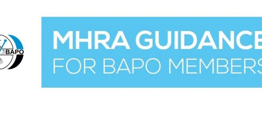 MHRA Guidance