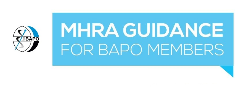 MHRA Guidance