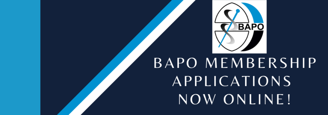 NEW: Online BAPO Application Form