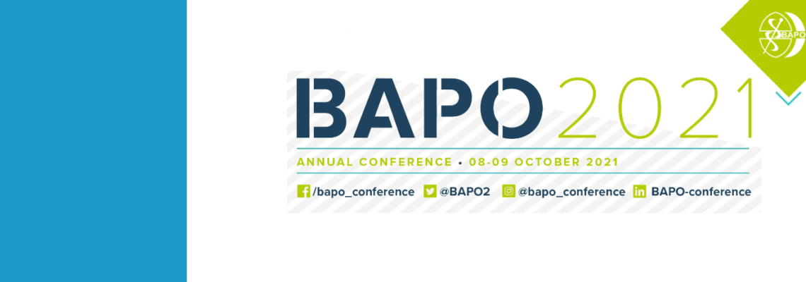 Save the Date #BAPO2021